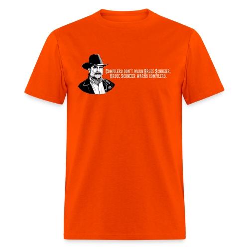schneier14 cowboy white - Men's T-Shirt