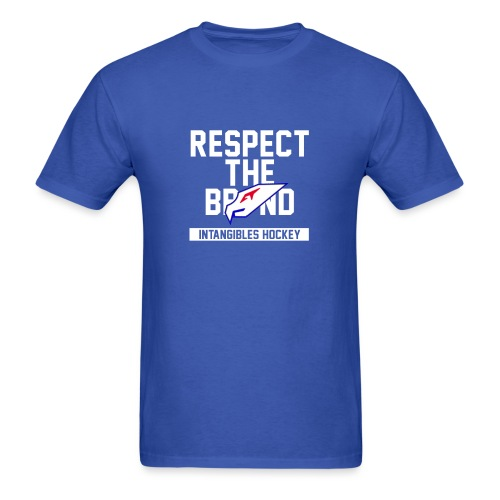 Intangibles Respect the Brand - Men's T-Shirt