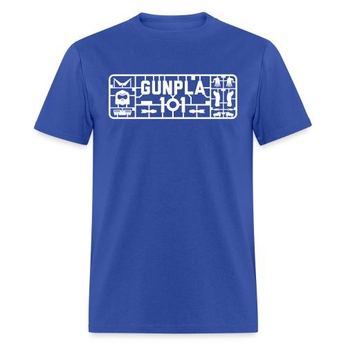 Gunpla 101 Men's T-shirt — Zeta Blue - Men's T-Shirt