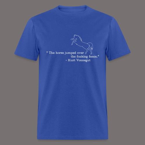 Kurt Vonnegut Sports Journalist - Men's T-Shirt