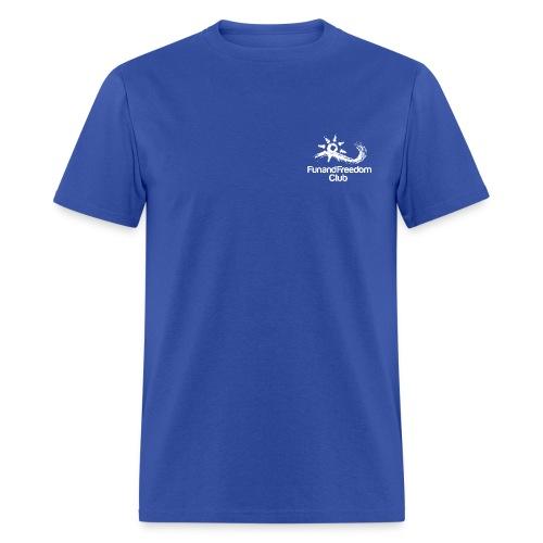 logo_FFClub_new1white - Men's T-Shirt