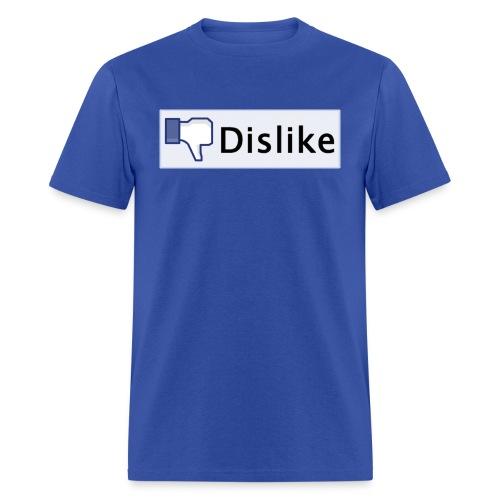 facebook dislike button - Men's T-Shirt
