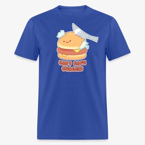 Baby safe Burger - Men's T-Shirt