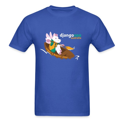 DjangoCon AU 2019 - Men's T-Shirt