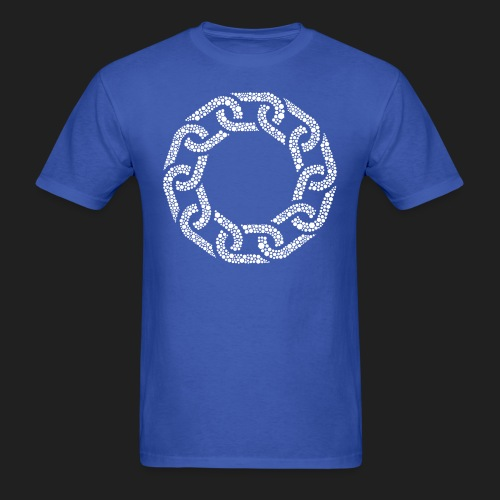 Brotherhood Hex Design - Men's T-Shirt