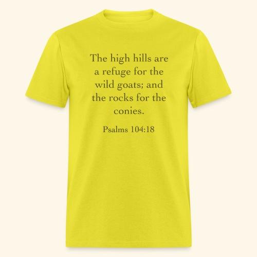 High Hills KJV - Men's T-Shirt
