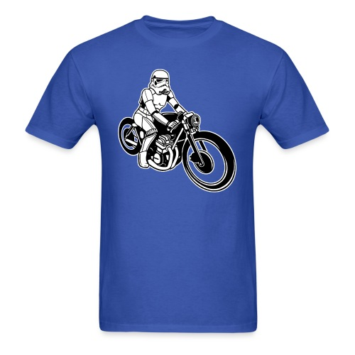 Stormtrooper Motorcycle - Men's T-Shirt