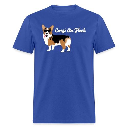 Corgi on Fleek Butt - Men's T-Shirt