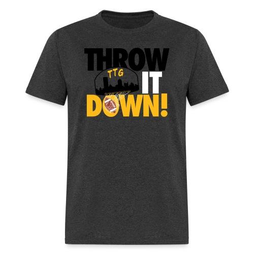 Throw it Down! (Turnover Dunk) - Men's T-Shirt