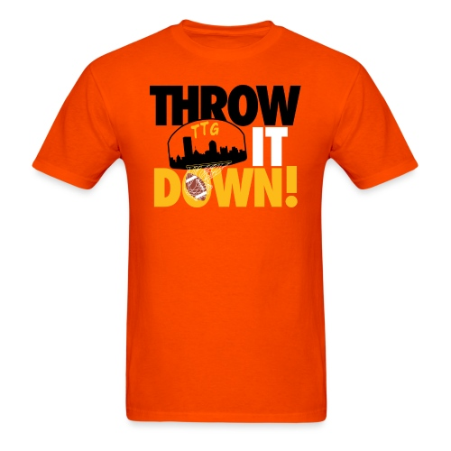 Throw it Down! (Turnover Dunk) - Men's T-Shirt