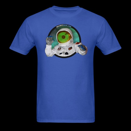 Spaceboy Music Logo - Men's T-Shirt