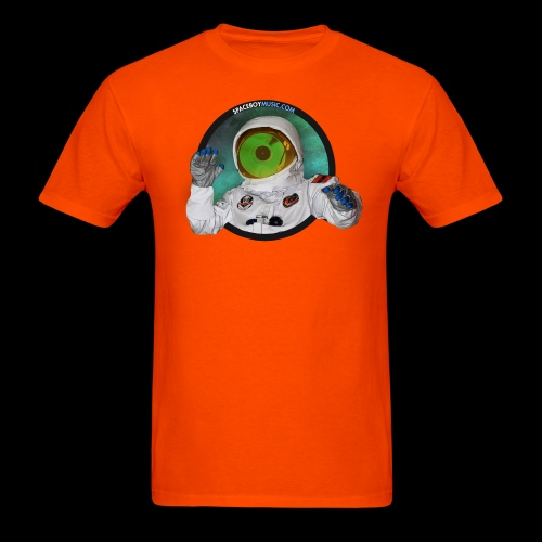 Spaceboy Music Logo - Men's T-Shirt