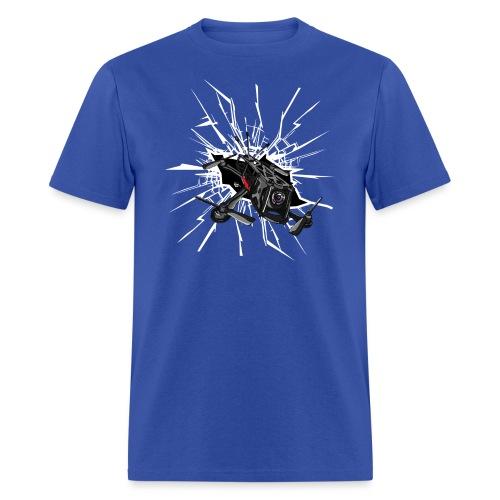 Drone Crash - Men's T-Shirt