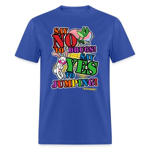 11 dnbo jumping3 - Men's T-Shirt