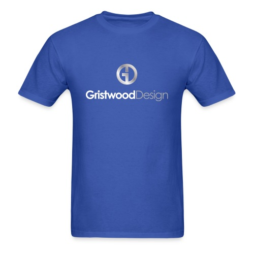 Gristwood Design Logo For Dark Fabric - Men's T-Shirt