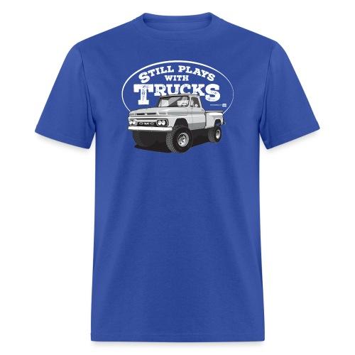 64GMC ShortStep4x4 WHT - Men's T-Shirt