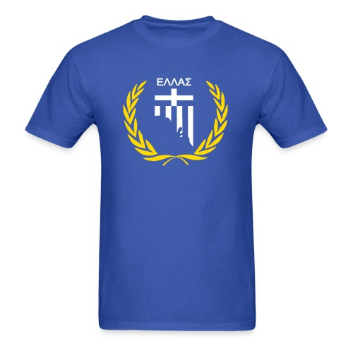Hellas in Adelaide Blue Men's T Shirt - Men's T-Shirt
