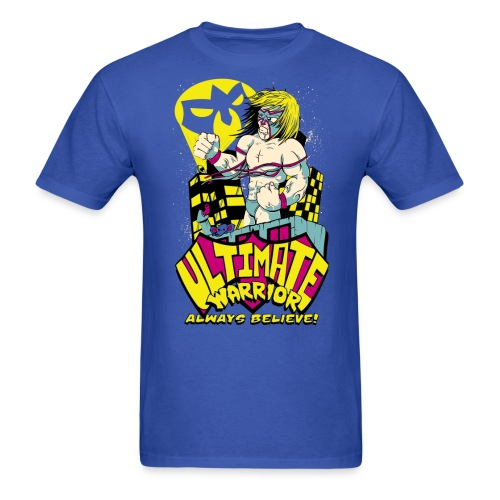 warrior vect 1 color 9 - Men's T-Shirt