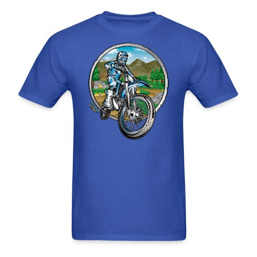 Supercross Motocross Shirt - Men's T-Shirt