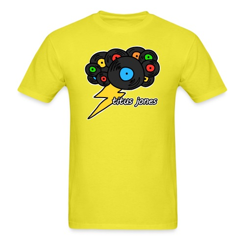 TJ Record Cloud - Men's T-Shirt