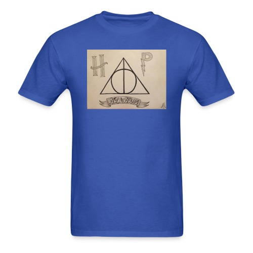 Deathly Hallows - Men's T-Shirt