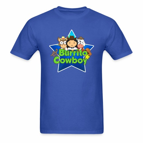 El Burrito Cowboy Star - Men's T-Shirt