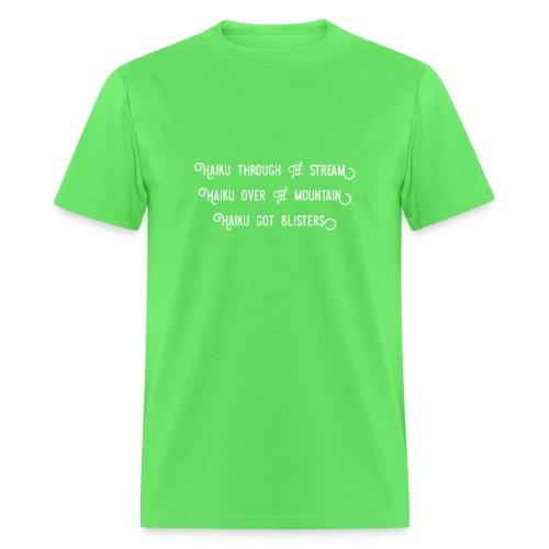 Haiku over the mountain - Men's T-Shirt