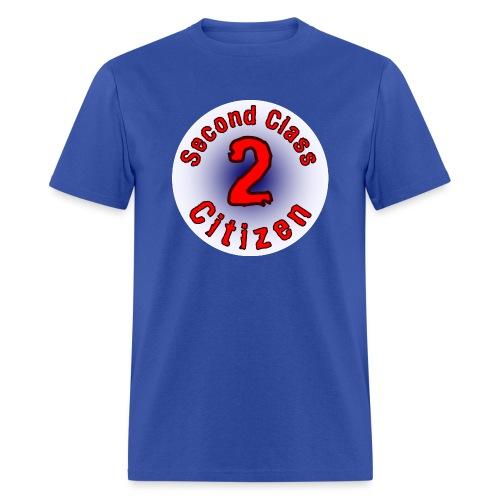 2nd Class Citizen Logo (Light) - Men's T-Shirt