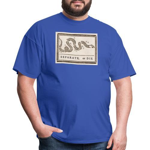 Separate or Die (Join or Die) - Men's T-Shirt