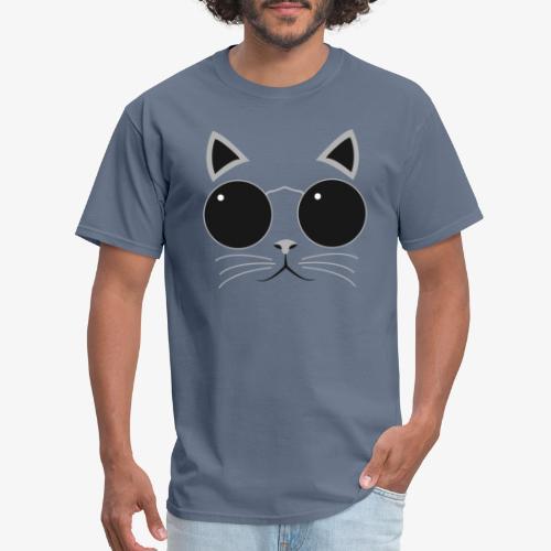 Hipster Cat T-Shirt - Men's T-Shirt