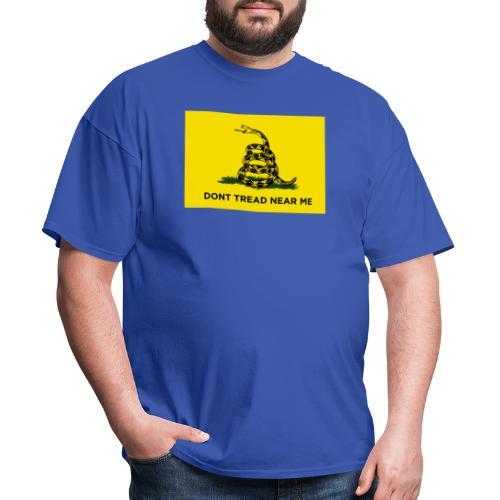 DONT TREAD NEAR ME Gasden Flag - Men's T-Shirt