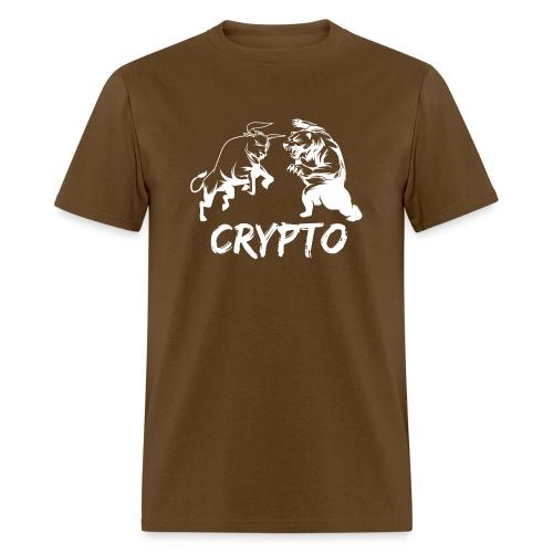 CryptoBattle White - Men's T-Shirt