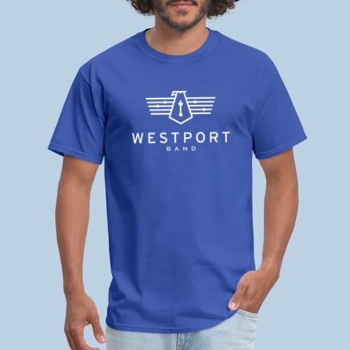 Westport Band White on transparent - Men's T-Shirt