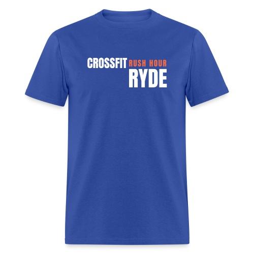 CrossFit Rush Hour Ryde - Standard Design - Men's T-Shirt