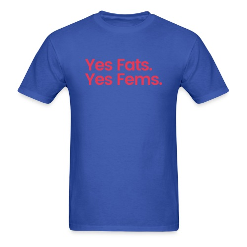 Beyr and Cubb Fats and Fems. - Men's T-Shirt