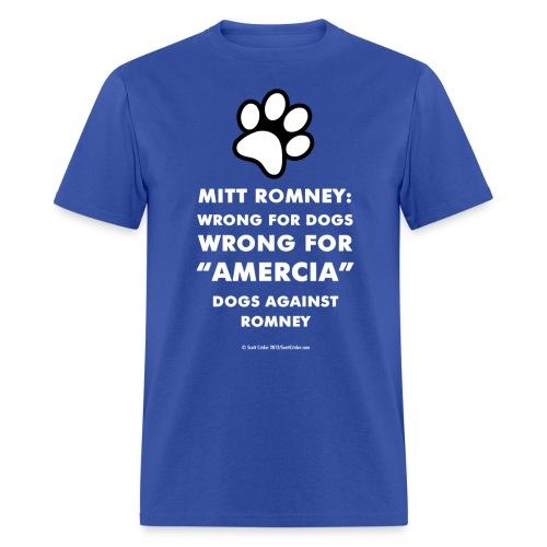 amercia whiteshirts300dpi - Men's T-Shirt