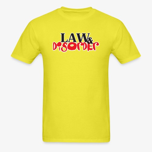 Law DISORDER Logo - Men's T-Shirt