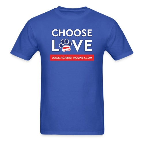 chooseloveshirtsforlight300dpi - Men's T-Shirt