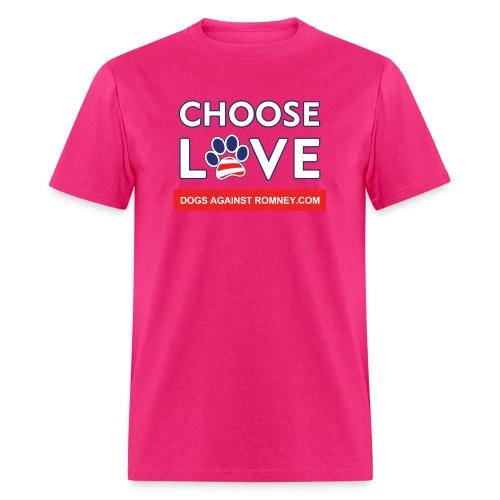 chooseloveshirtsforlight300dpi - Men's T-Shirt