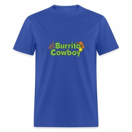 El Burrito Cowboy LOGO - Men's T-Shirt
