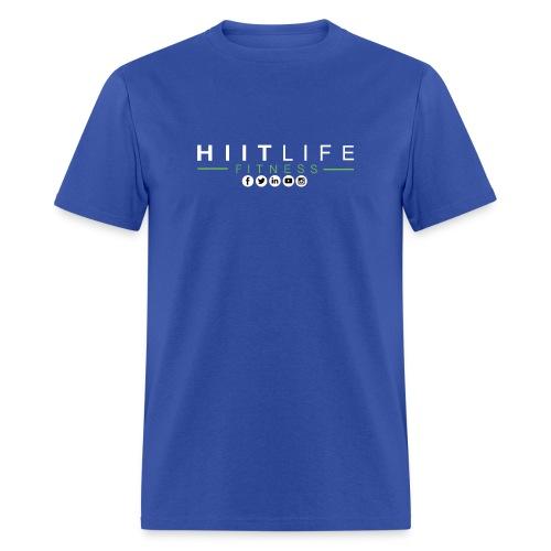 hlfsocialwht - Men's T-Shirt