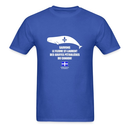 Sauvons le St-Laurent - Men's T-Shirt