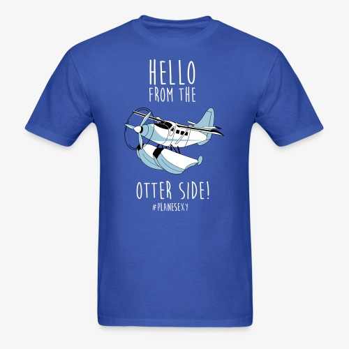 Hello From the Otter Side! - Men's T-Shirt