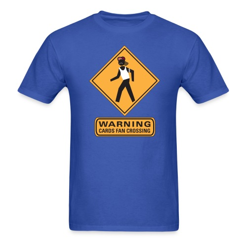 cards crossing - Men's T-Shirt