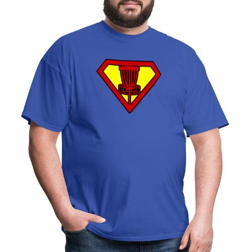 Super Hero Disc Golfer Shirt and Gifts - Men's T-Shirt