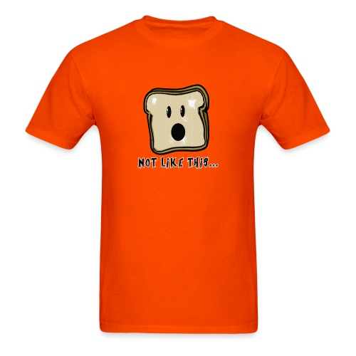 Bread Splat - Men's T-Shirt