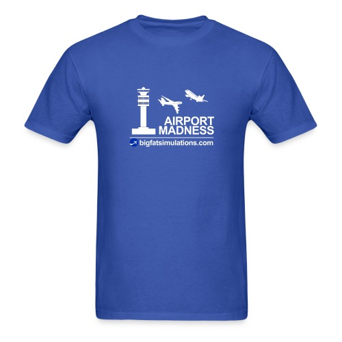 The Official Airport Madness Shirt! - Men's T-Shirt