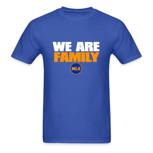 we are family Broncos - Men's T-Shirt