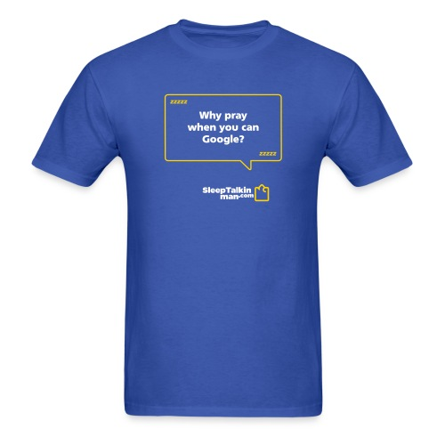 whyPray design - Men's T-Shirt