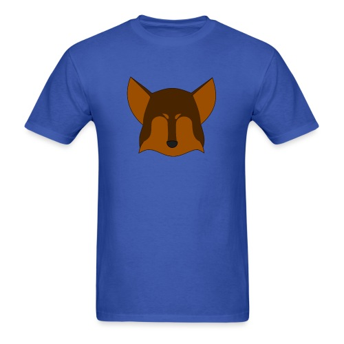 Simple Wolf Head - Men's T-Shirt